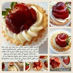 Feriel's media statistics and analytics Arabic Dessert, Arabic Sweets, Arabic Food, Eid Sweets, Ramadan Desserts, Tart Recipes, Cooking Recipes, Cookout Food, Cooking Cake