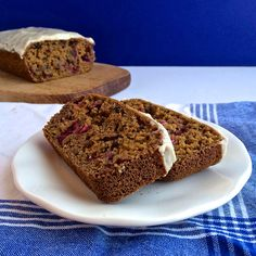 Cranberry Gingerbread Bliss Loaf