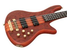 Loaded with features that count, the Schecter Stiletto Studio 8 Bass is one sharp-looking, sleek and sexy bass. The Stiletto Studio 8's doubled strings in octaves give it a unique, rich melodic