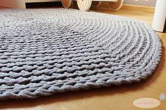 Jak zrobić szydełkowy dywan? - tutorial Merino Wool Blanket, Fabric Flowers, Pin Up, Rugs, Handmade, Diy, Home Decor, Manualidades, Farmhouse Rugs