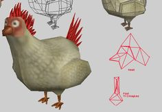LOWPOLY (sub 1000~ triangle models) - Page 79 - Polycount Forum