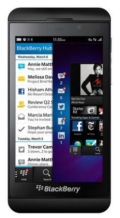 Research in Motion renames itself BlackBerry, unveils Z10 smartphone