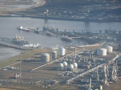 Chemical site on Teesside  by The Glass Cyclist, via Flickr