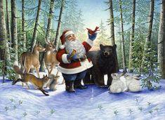 Afbeeldingsresultaat voor christmas santa