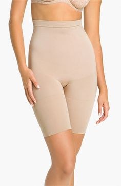 SPANX® 'Slim Cognito' Mid-Thigh Bodysuit Shaper available at #Nordstrom