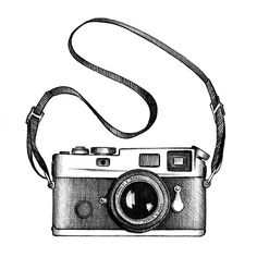 48 Ideas photography camera illustration drawings - - - Cameras and Accessories Camera Drawing, Camera Art, Camera Painting, Camera Sketches, Camera Life, Polaroid Camera, Photography Camera, Art Photography, Photography Sketchbook
