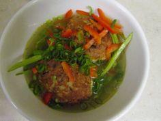 Lions Head soup (omit cornflour)