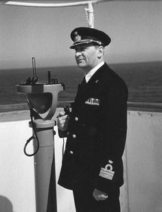 Capt. Piero Calamai of the S.S. Andrea Doria