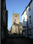 St Mary's Church in Kirkby Lonsdale, where my grandparents were married