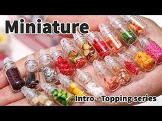 미니어쳐 접시 만들기( 이야코 화이트점토, 이야코 플라스틱 점토), miniature plate tutorial - YouTube