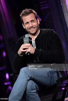 Actor <a gi-track='captionPersonalityLinkClicked' href=/galleries/search?phrase=Gabriel+Macht&family=editorial&specificpeople=240398 ng-click='$event.stopPropagation()'>Gabriel Macht</a> discusses the fifth season of USA Network's show 'Suits' at AOL Build at AOL Studios In New York on January 27, 2016 in New York City.