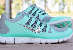 Mint Nike tennis shoes. yes please