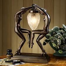 lamp - Art Deco Style  1930