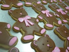 Cookie decorations | More Reader Submissions » teddy bear iced sugar cookies
