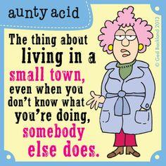 Aunty Acid Comic Strip, December 06, 2013 on GoComics.com