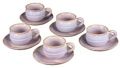 Hagi purple round coffee set 17 405 * This is an Amazon Associate's Pin. You can find out more details at this Amazon Affiliate link. Coffee Ice Cream, Coffee Tasting, Coffee Set, Coffee Beans, Tea Cups, Canning, Amazon, Purple, Awesome