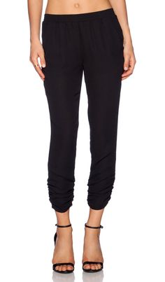 Eight Sixty Rouged Pant in Black | REVOLVE