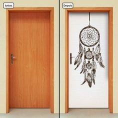 2020cnpt Wallpaper Door, Moon Design, Painted Doors, Diy Room Decor, Home Decor, Mandala Art, Door Handles, Diy And Crafts, Diy Projects