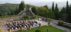 #tuscany #wedding #castle - Florence Wedding Castle 298 | Castle's garden - outdoor celebration