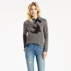 Cozy and easy, this is a sweater no gal should be without. It's here just in time for cooler weather, but will remain an essential layering piece all year. Cut for a slim fit with a tailored shoulder.