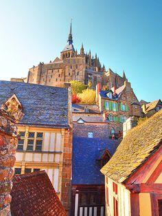 Mont Saint Michel. France. Take me back