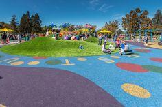 Heather Farm, Walnut Creek. Nice job by Miracle Play Systems #heatherfarm #playground