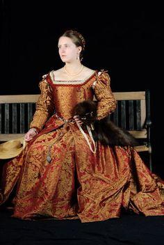 Italian Renaissance Style Gown.