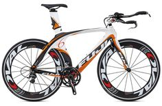 A serious contender for speed, the Fuji D-6 2.0 2012 Triathlon Bike