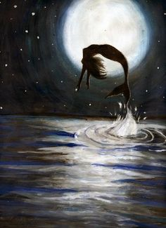 Oh, how I long to live under the sea... Swimming free under the moonlight