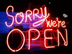 Open today until MIDNIGHT! In case you feel the urge to buy some stuff. Closed Christmas! #sorrynotsorry