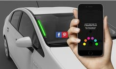 Best Lights Up Drivers' Windshields to aid Customers Find Their particular Tours
