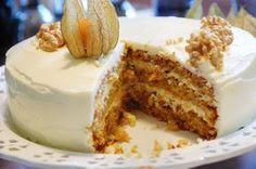 Makeaa murmelin täydeltä: Maailman paras porkkanakakku No Bake Desserts, Delicious Desserts, Yummy Food, Baking Recipes, Cake Recipes, Happy Foods, Creative Cakes, Desert Recipes, Yummy Cakes