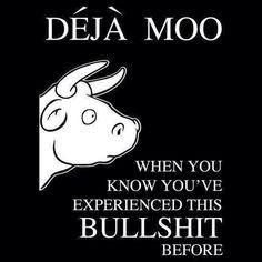 Blah....blah....blah.....same bullshit!! Same cow!