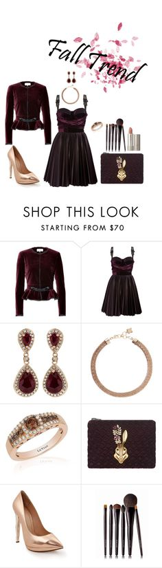 """Untitled #235"" by lo2lo2a ❤ liked on Polyvore featuring Emilio Pucci, Versus, Effy Jewelry, BCBGMAXAZRIA, LE VIAN, Mawi, Laura Mercier and Ilia"