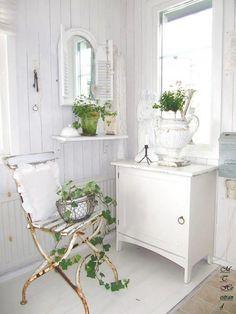 sunny white cottage...