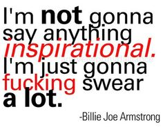 And he ends up saying some of the most inspirational words you'll ever hear <3