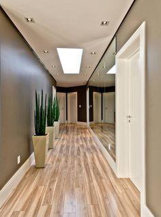 Corredores E Halls De Entrada Por Espaço Do Traço Arquitetura