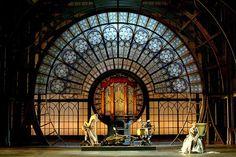 The Tales of Hoffman. Lyric Opera in Chicago, Illinois. Design by Ezio Frigerio. Design Set, Stage Set Design, Set Design Theatre, Park Attraction, Conception Scénique, Desgin, Teatro Real, Theater, Scenic Design