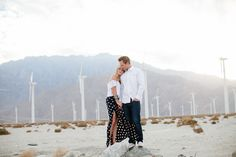 Getting engaged in Palm Springs