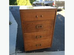 See photo tall wide deep Used Victoria, See Photo, Filing Cabinet, Dresser, Furniture, Decor, Powder Room, Decoration, Stained Dresser