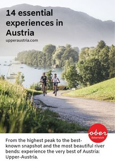From the highest peak to the best-known snapshot and the most beautiful river bends: experience the very best of Upper Austria. Here are the top 14 highlights that definitely belong on your bucket list. Seen, Top 14, Austria, The Best, Highlights, Most Beautiful, Bucket, Country Roads, River