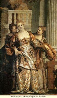 Paolo Veronese. Esther before Ahasuerus. Detail, Italian 16th Century