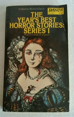 1972 THE YEAR'S BEST HORROR STORIES SERIES #1 PB BOOK DAW BOOKS EDITION