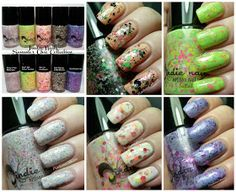 Pointless Cafe: Jindie Nails - Summer Chic Collection 2013