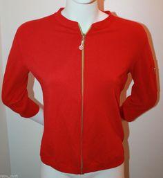 Lululemon Womens Red Yoga Jacket Size XL Extra Large 3/4 Sleeves