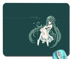 Amazon.com : saya no uta saya mouse pad computer mousepad : Office Products