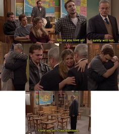 Final scene of Boy Meets World. I cried so hard at this last episode.:(