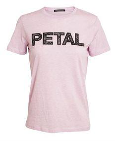 CHRISTOPHER KANE - Petal Cotton and Cashmere T-shirt