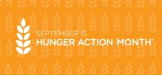 September is Hunger Action Month, a national effort to end hunger in our communities. Montana, let's join #HungerAction