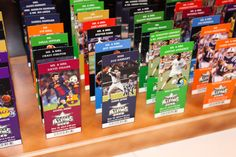 Custom Designed Multi-Sports Ticket Seating Cards